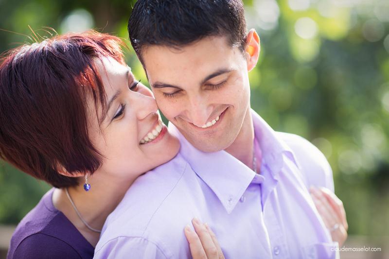 Vanessa Bureau et son mari
