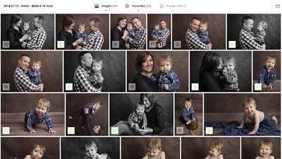 Galerie de sélection photos Bébé