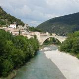 Pont de Nyons en Drôme provençale