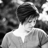 Portrait de Vanessa en noir et blanc