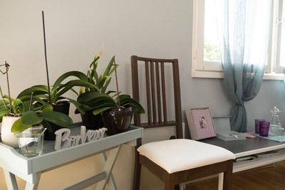Détail studio plantes vertes