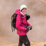 Vanessa en randonnée en Islande